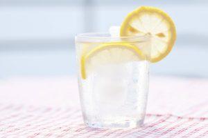 verre citron