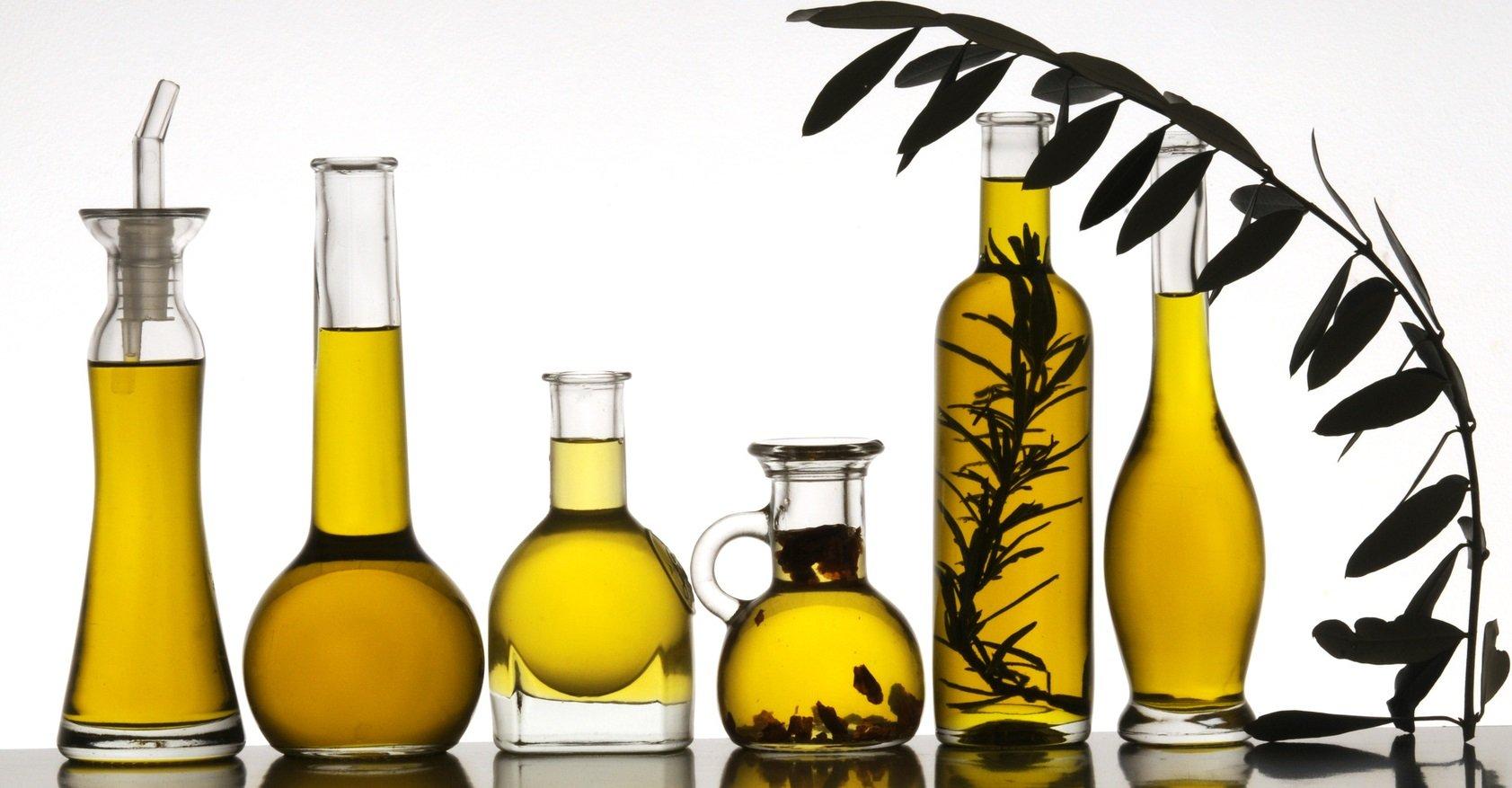 Huile d'olive graisses insaturées