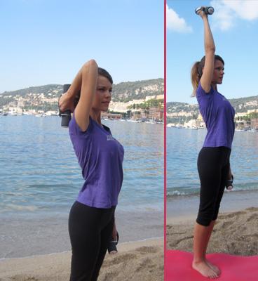 Comment muscler et affiner les bras contre la cellulite