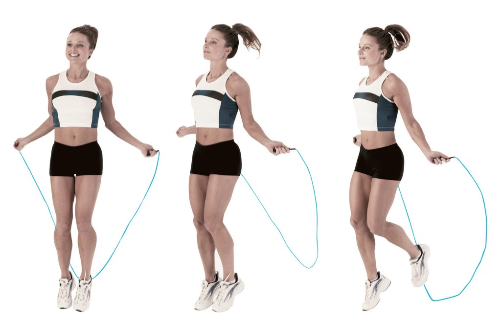 Como debo saltar la cuerda para bajar de peso