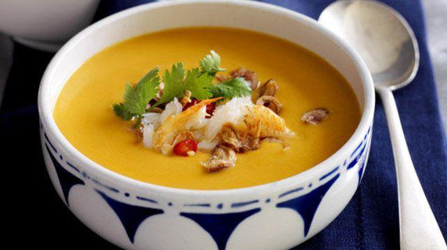 soupes minceur thai crabe