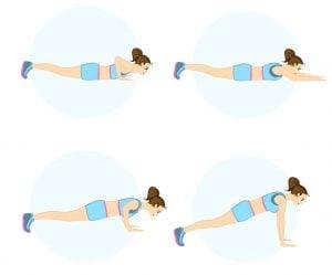Dietas para adelgazar los brazos y espalda