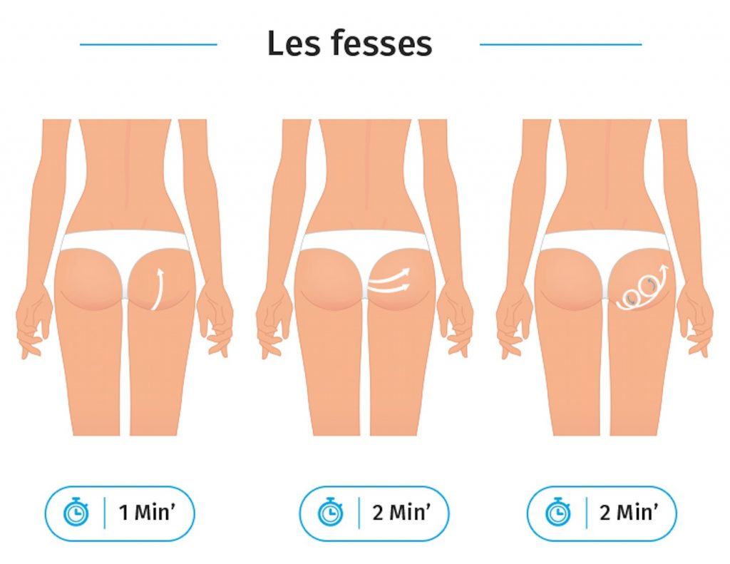 exercice perdre cellulite fessier