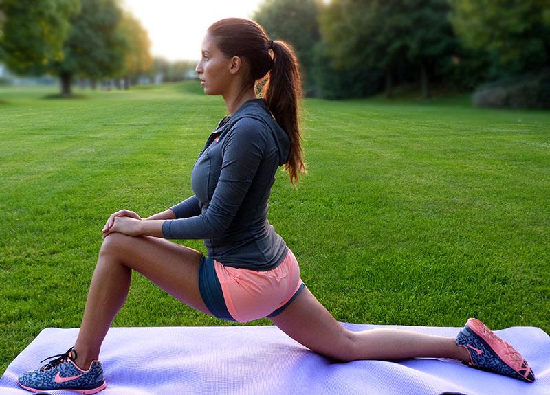 cellulite durch sport weg
