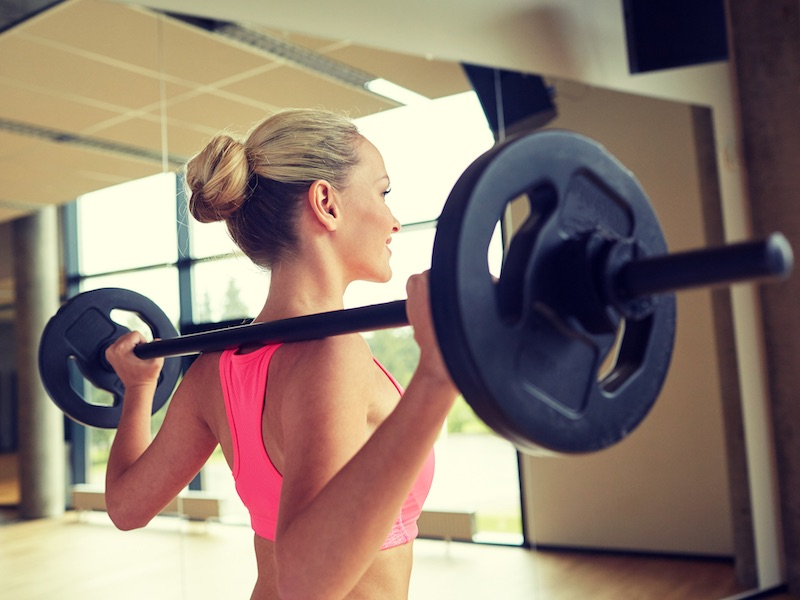pesas y cardio adelgazar muslos