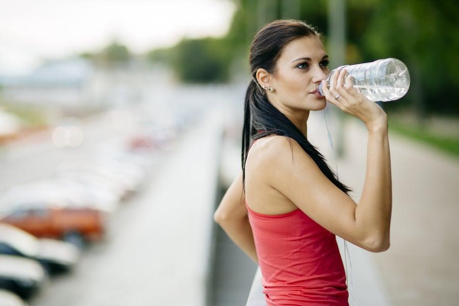 ne pas grossir boire de l'eau