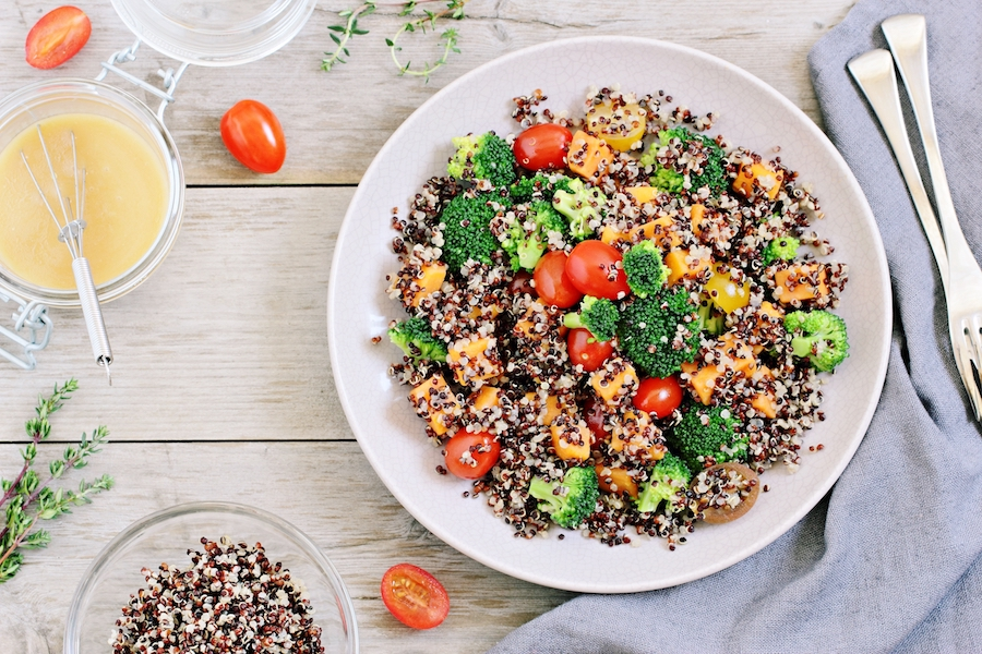 3 recettes de salades l g res moins de 300 calories cellublue. Black Bedroom Furniture Sets. Home Design Ideas